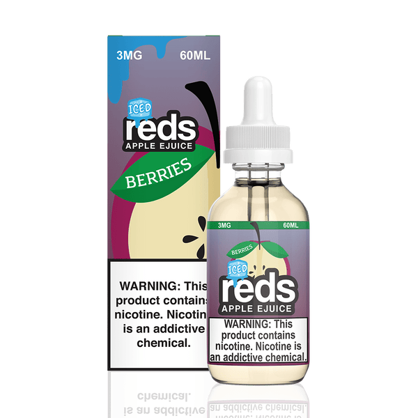 REDS E-JUICE - ICED BERRIES APPLE - BEST EJUICE PRICES