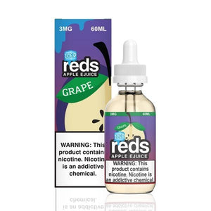 REDS E-JUICE - ICED GRAPE APPLE - BEST EJUICE PRICES