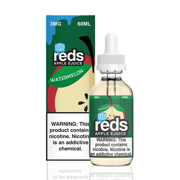 REDS E-JUICE - ICED WATERMELON APPLE - BEST EJUICE PRICES