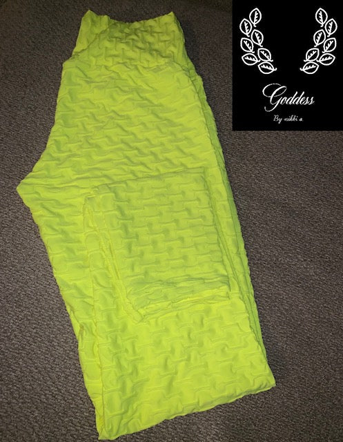 "Neon Yellow ""Gaia"""