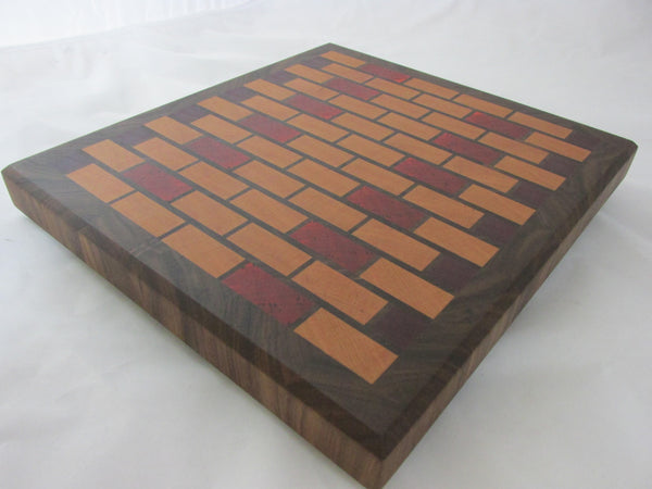 End grain cutting board. Great gift idea. hardwood kitchen ideas. perfect for anyone who loves to cook. Large wood cutting board.