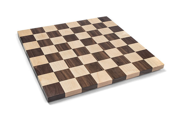 Solid wood Handmade chess board made of maple and walnut woods. Great birthday gift for any chess lover! custom orders welcome! 16 Inch Board game