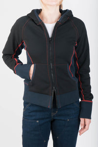 Rugged Zip Up Double Layer Hoody/ Jacke