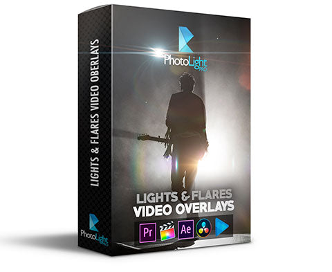 Lights & Flares Video Overlays