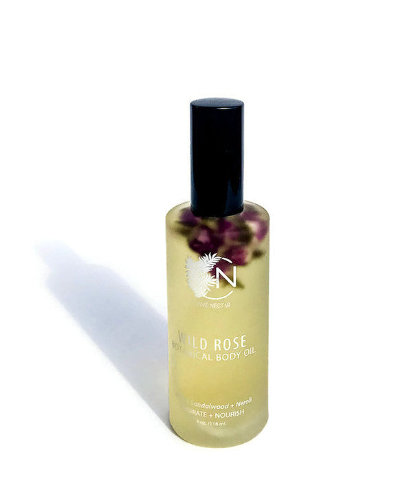 Wild Rose Body Oil - Native Nectar Botanicals