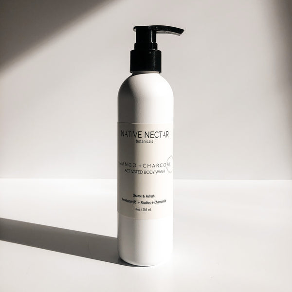 Mango + Charcoal Activated Body Wash