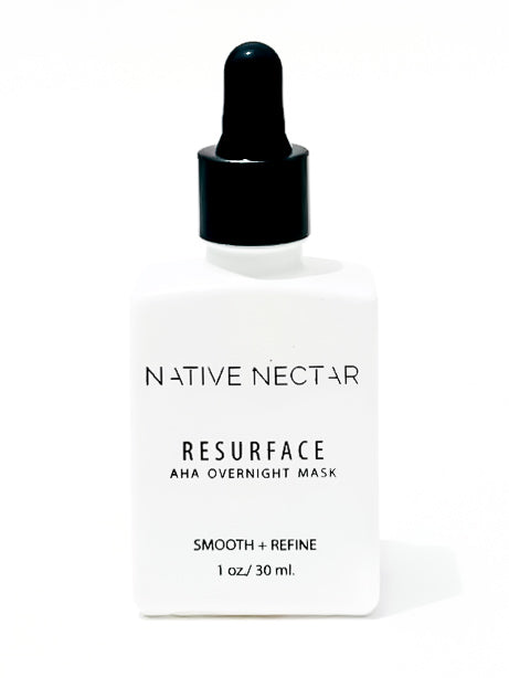 Resurface AHA Liquid Exfoliant - Native Nectar Botanicals