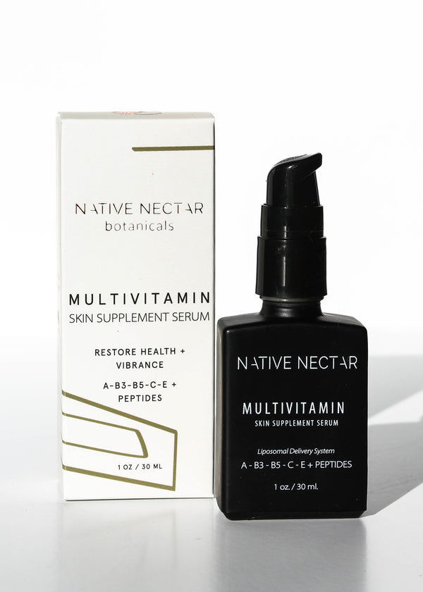 MultiVitamin Skin Supplement Serum