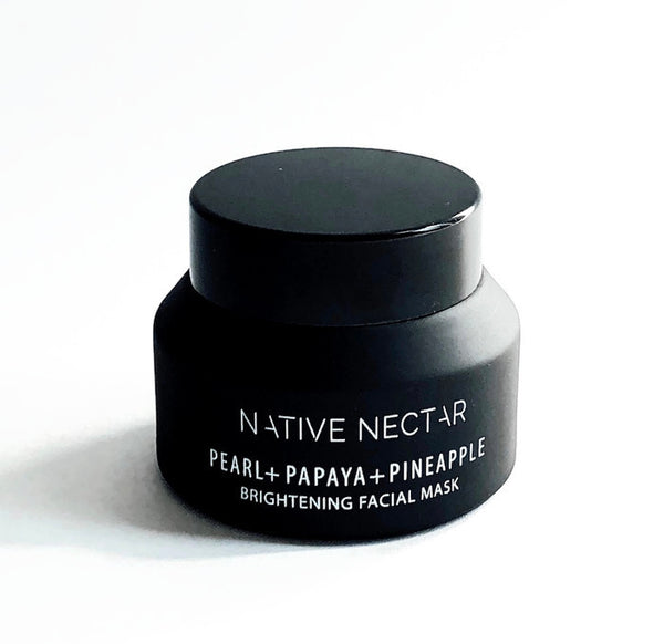 Pearl + Papaya + Pineapple Facial Mask - Native Nectar Botanicals