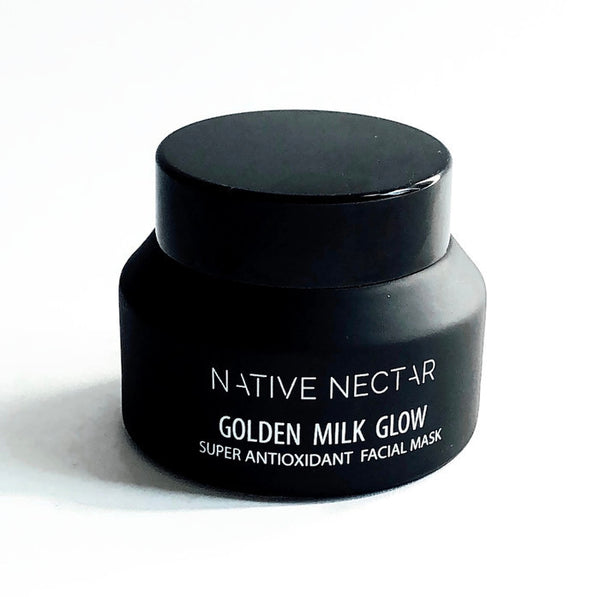 Golden Milk Glow Facial Mask - Native Nectar Botanicals