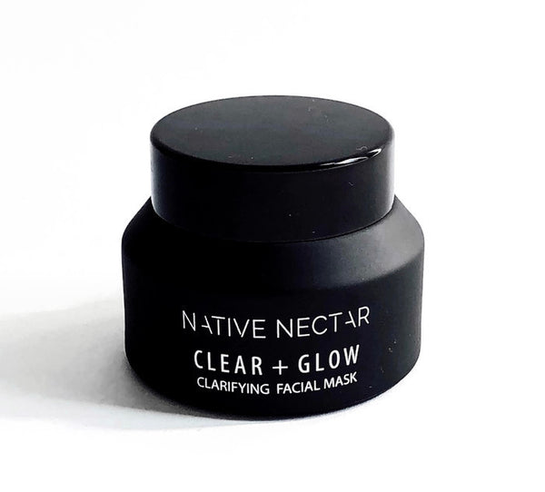 Clear + Glow Facial Mask - Native Nectar Botanicals