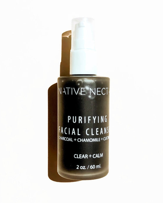 Purifying Charcoal Cleanser - Native Nectar Botanicals