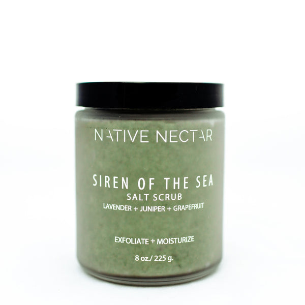 Siren of the Sea Salt Scrub - Native Nectar Botanicals
