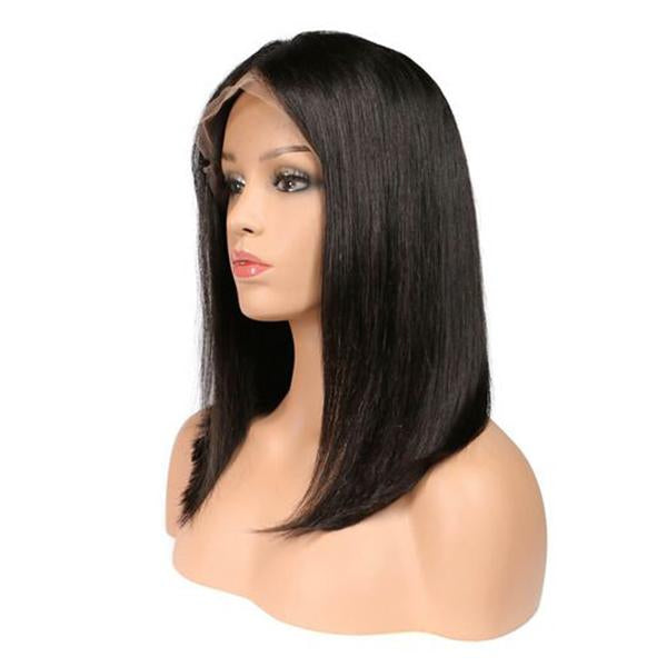 Bob Straight | Japanese Fiber Lace Front Wig (Base Cap)