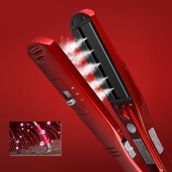 Kemei™ Professional Steam Hair Straightener