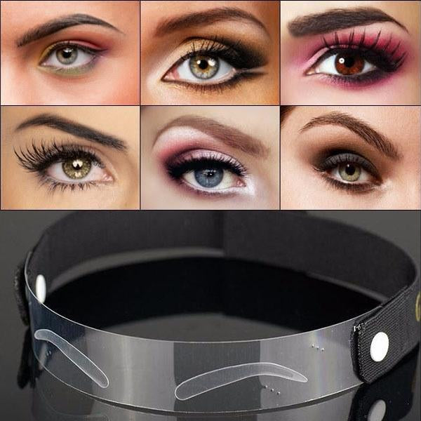 Eyebrow Template Straps(12 different shapes)