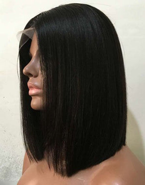 Straight Wigs  Lace front wig synthetic wig-Bod015