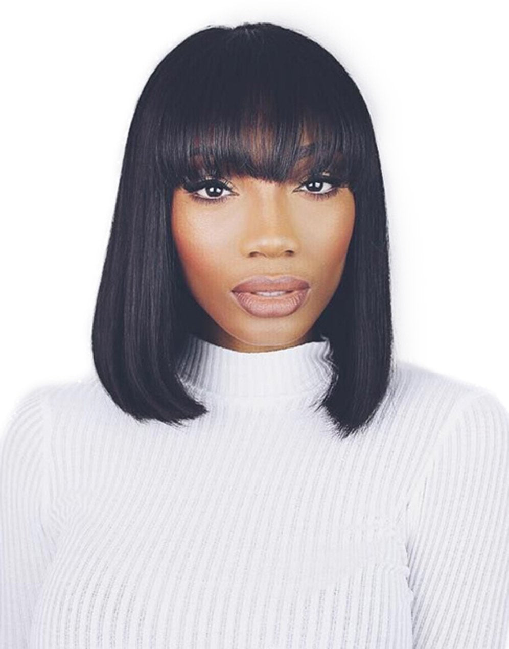 Straight Wigs Lace front wig synthetic wig-Bod026