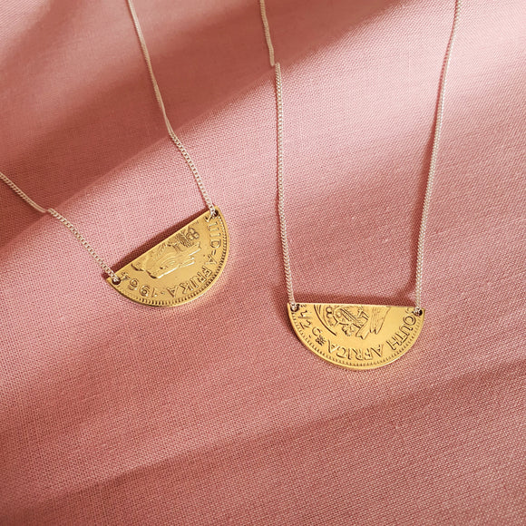 1/2 Cent Necklace Set
