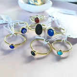Greek Mati (Evil Eye) Ring