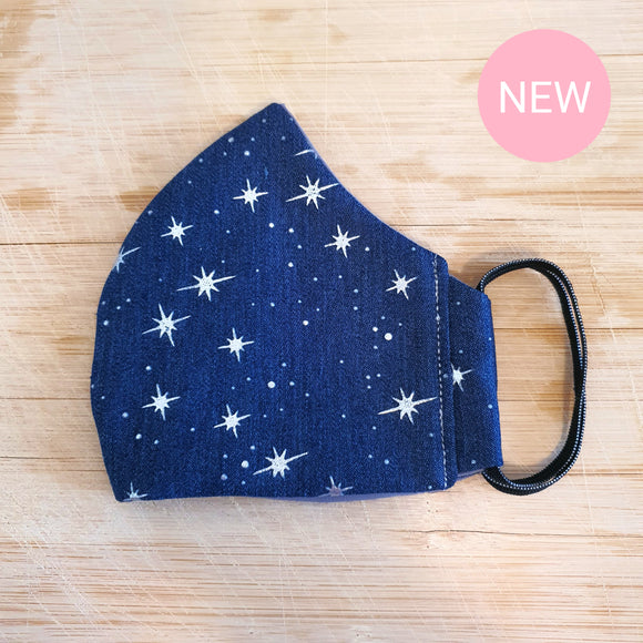 North Star Denim Mask