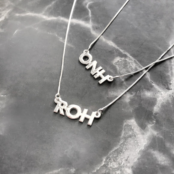 Initial/Name Necklace