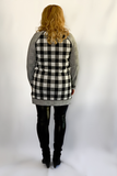 Buffalo Check Zip Side Tunic Dress (only small available)