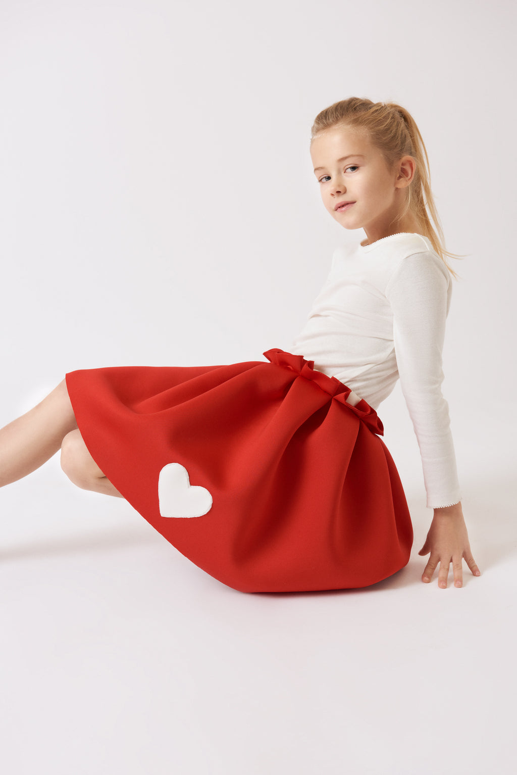 IBE The Red Skirt with a Heart