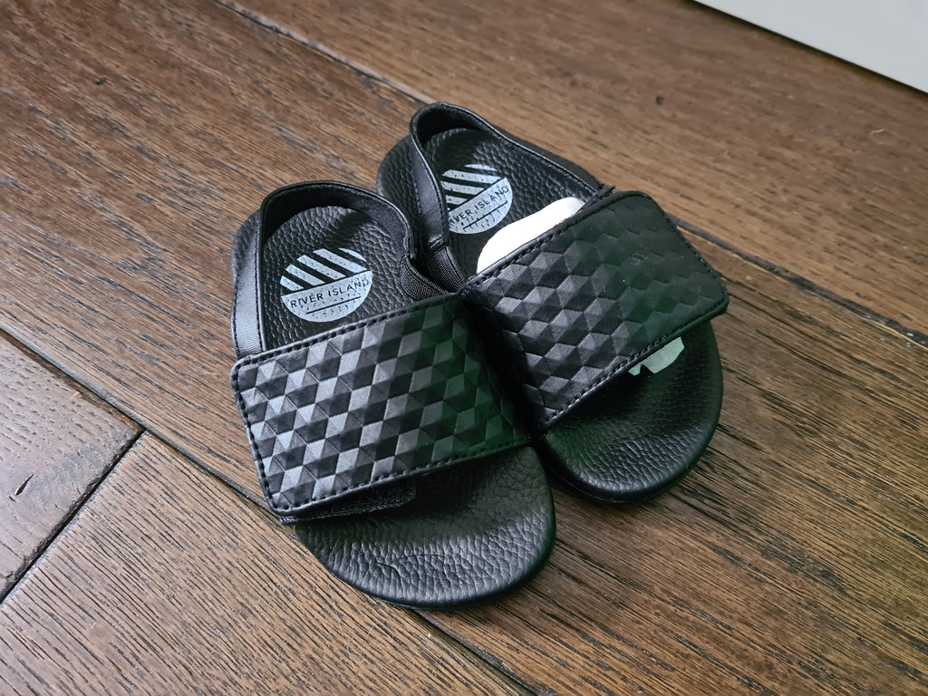 River Island Sliders, BNWT, Infant Size 5