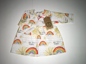 Little Me Designs Dress, BNWT, Girls 0-3 Months
