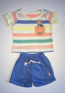 Joules Set, Boys 0-3 Months