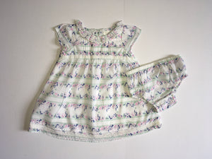 Next Dress and Knickers, Girls 0-3 Months
