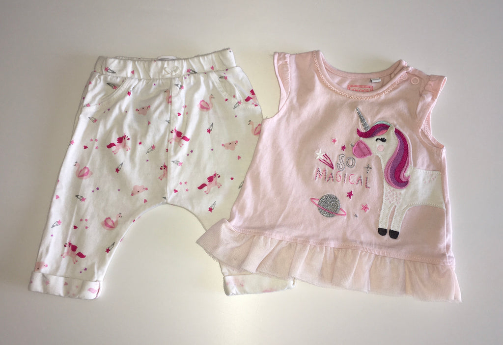 Bluezoo Set, Girls 0-3 Months