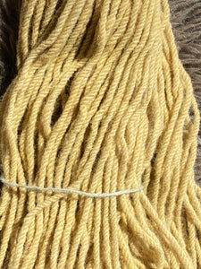3 ply aran weight dyed with yarrow