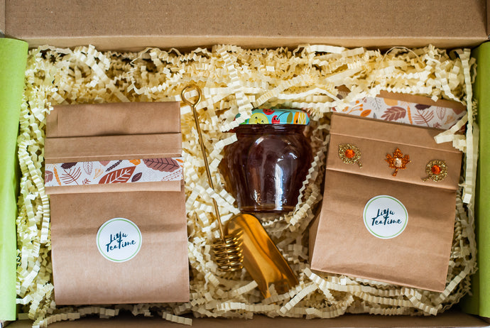 Autumn Glare Tea Gift Box