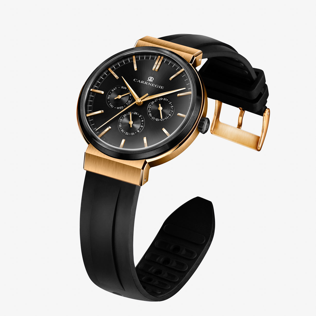 SPORTS BLACK ROSE GOLD