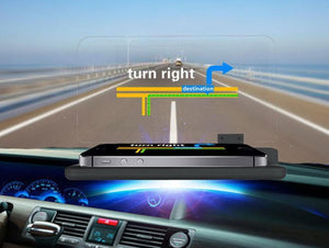 Feels Like Driving In the Future... Amazing Heads Up Driving Technology Works With Any Phone & Any Car