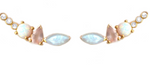 Moonstone & Opal Wing Climbers from LA Kaiser