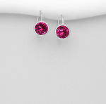 Fuschia Gumdrop  Earrings in multiple colors
