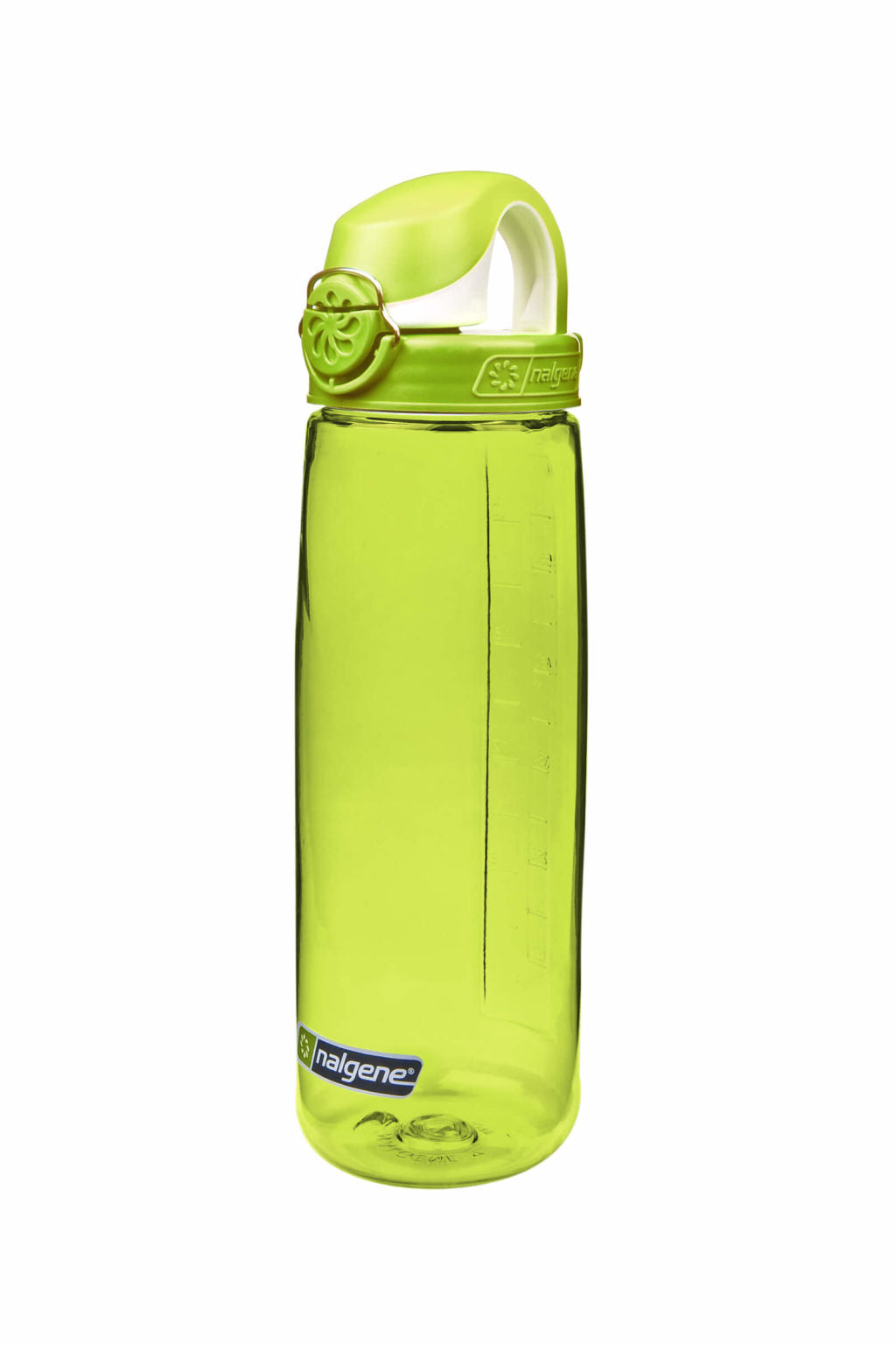 Green Badger Water Bottle