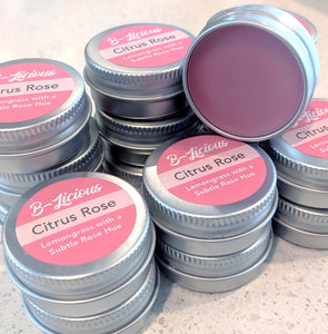 Citrus Rose Lip Balm Tin