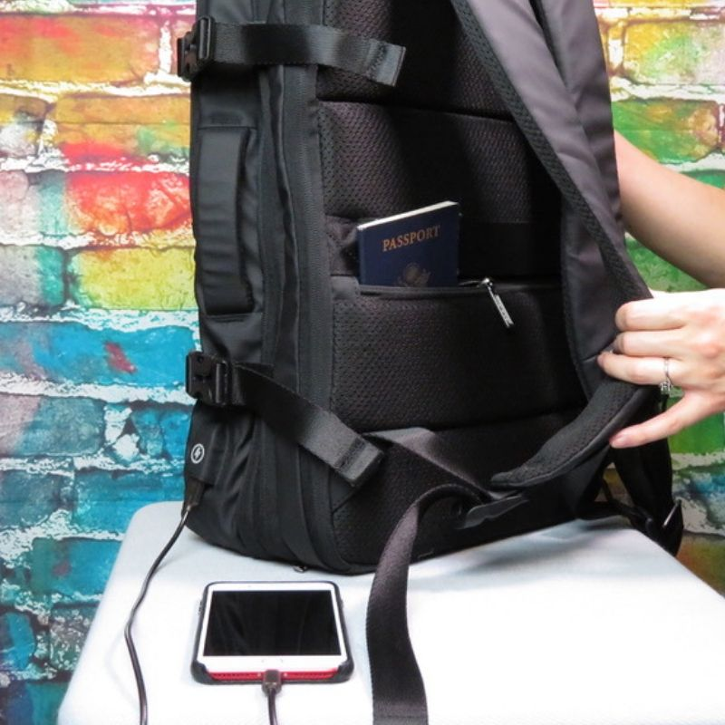 Expandable Travel Backpack, notiaPoint, Inc., notiaPoint, Inc. - notiaPoint, Inc.