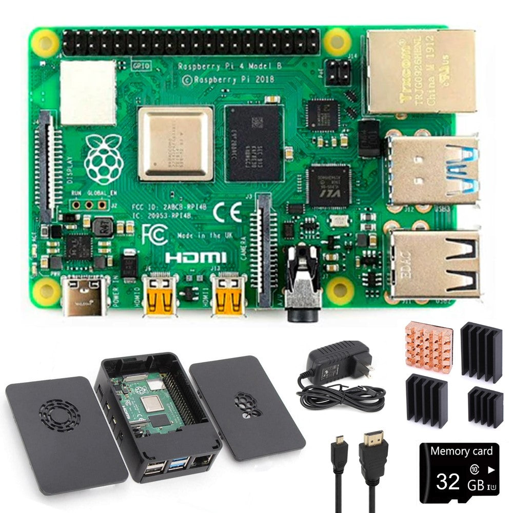Raspberry Pi 4 All-In-One Bundle, notiaPoint, Inc., notiaPoint, Inc. - notiaPoint, Inc.