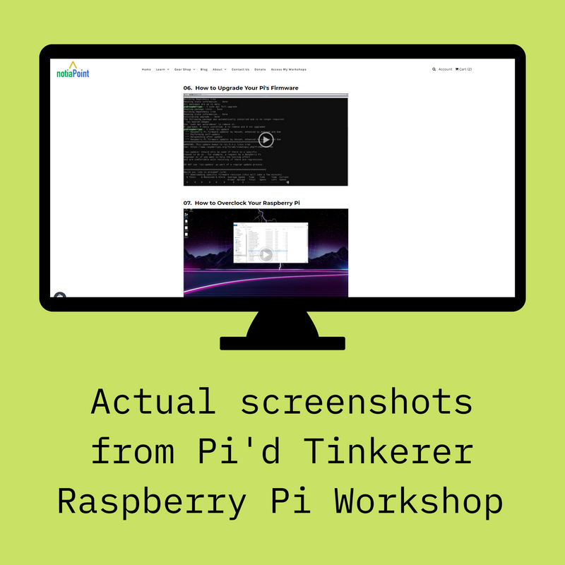 Pi'd Tinkerer DIY Hybrid Cloud DevSecOps Workshop for Raspberry Pi 4B (Workshop Only – Hardware NOT Included) - notiaPoint, Inc.