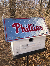 Load image into Gallery viewer, License Plate Birdhouse Philadelphia Phillies