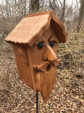 Load image into Gallery viewer, Birdhouse Cedar Rustic Primitive Old Man