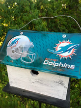 Load image into Gallery viewer, License Plate Birdhouse Miami Dolphins