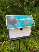 Load image into Gallery viewer, License Plate Birdhouse Jacksonville Jaguars