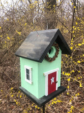 Load image into Gallery viewer, Country Birdhouse Door Citrus Green Red Fully Functional