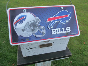 License Plate Birdhouse Buffalo Bills